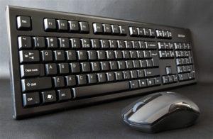 A4Tech Padless Wireless Keyborad Mouse 3000N