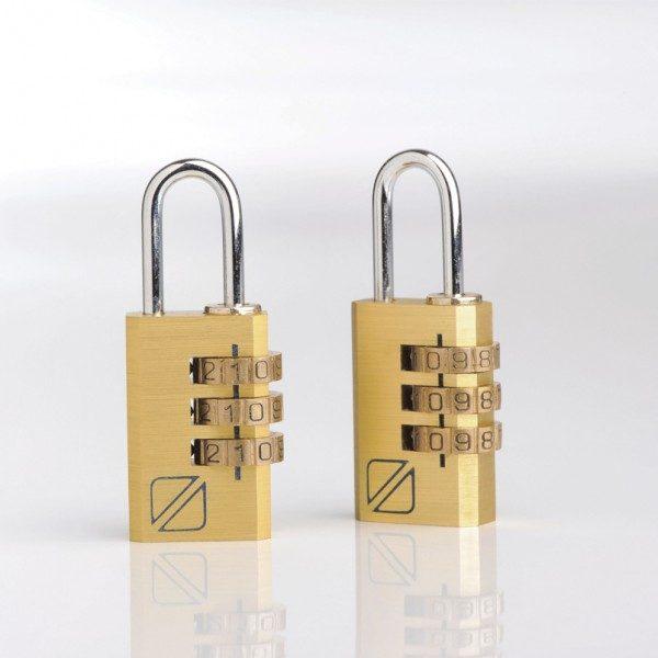 Travel Blue High Security Twin Combination Padlocks