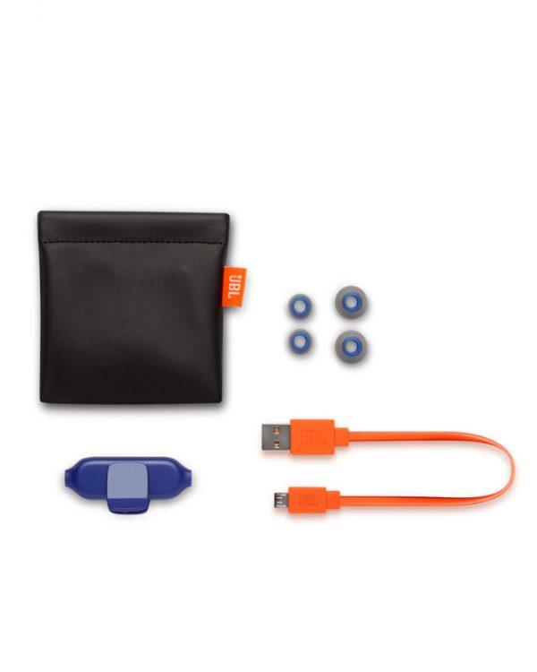 JBL E25BT Wireless Bluetooth In-ear Headphones - Blue