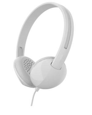 SkullCandy Stim On-Ear Headset - White/Gray