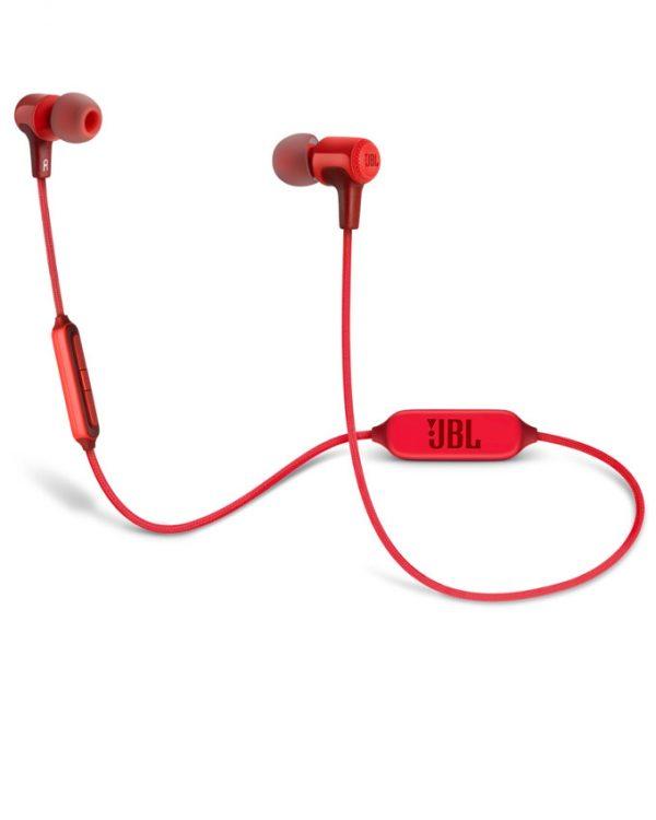 JBL E25BT Wireless Bluetooth In-ear Headphones - Red