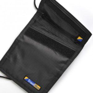 Travel Blue Security Neck Wallet Black