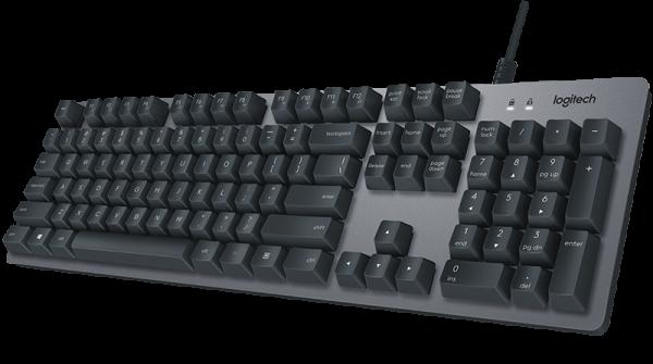 Logitech K840 Mechanical Corded Keyboard