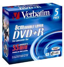 Verbatim Mini DVD+R Double Layer 5pk