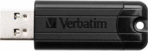 Verbatim PinStripe USB 3.0 Drive 64GB - Black