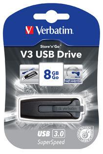 Verbatim Store'n'Go V3 USB 3.0 Drive 32GB ( Grey)
