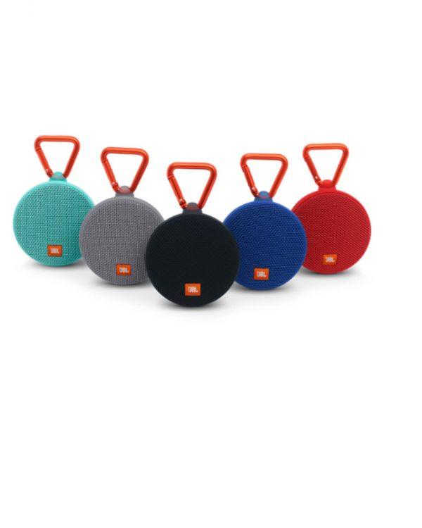 JBL Clip 2 Waterproof Portable Bluetooth Speaker - Black