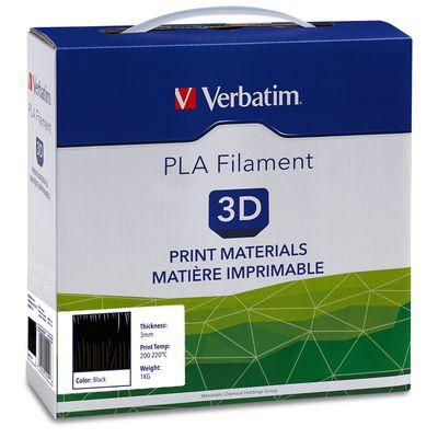 Verbatim PLA 3D Filament - 3mm 1kg - Black