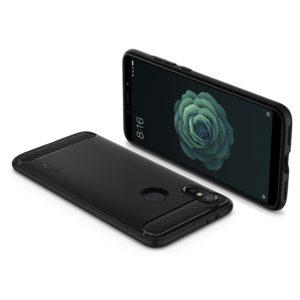 Spigen Xiaomi Mi A2 / 6X Case Rugged Armor - Black