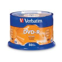 Verbatim DVD-R 16X 50pk Spindle
