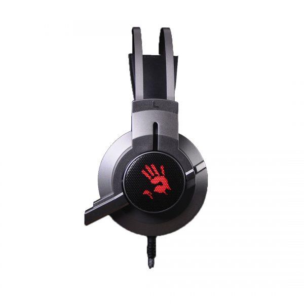 A4Tech Bloody G437 Glare Gaming USB Headset - Gun Black