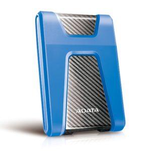 Adata HD650 Portable Hard Drive 2TB - Blue
