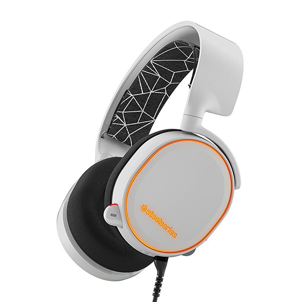 6907d9c9fde SteelSeries Arctis 5 7.1 Surround RGB Gaming Headset - White Price ...
