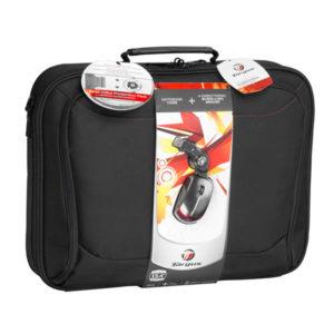 Targus 15.4 Notebook Bag + 4 Ways Scrollable Mouse