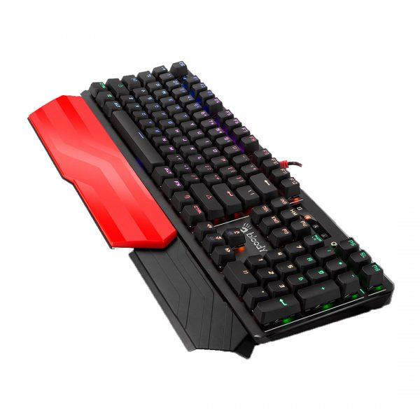 A4Tech Bloody B975 Light Strike RGB Animation Gaming Keyboard - Black