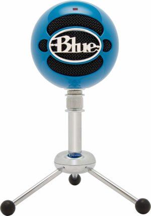 Blue Snowball USB Microphone - Electric Blue