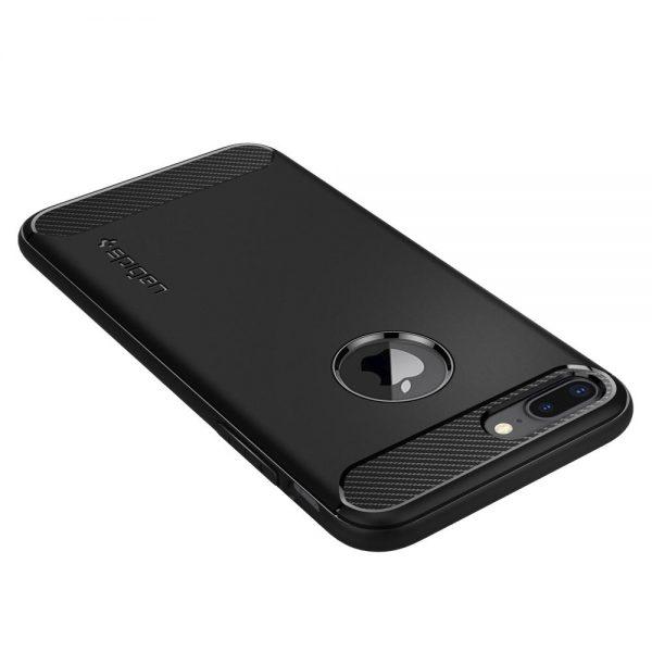 Spigen Apple iPhone 7 Plus & 8 Plus Case Rugged Armor - Black