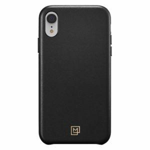 Spigen iPhone XR Case La Manon câlin Leather Case - Chic Black