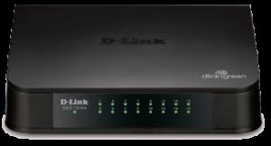 D-Link DES-1016A 16-port 10/100 Base-T Unmanged Switch