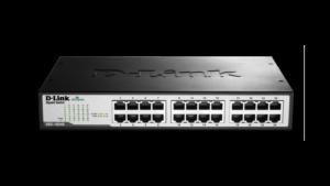 D-Link DGS-1024D 24-Port Gigabit Unmanaged Desktop/Rackmount Switch