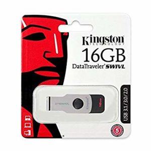 Kingston DataTraveler Swivl DTSWIVL 3.0 USB Flash Drive - 16GB
