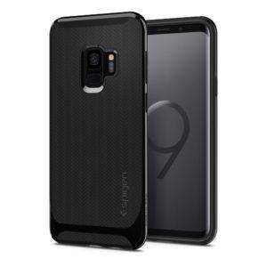 Spigen Samsung Galaxy S9 Case Neo Hybrid - Shiny Black