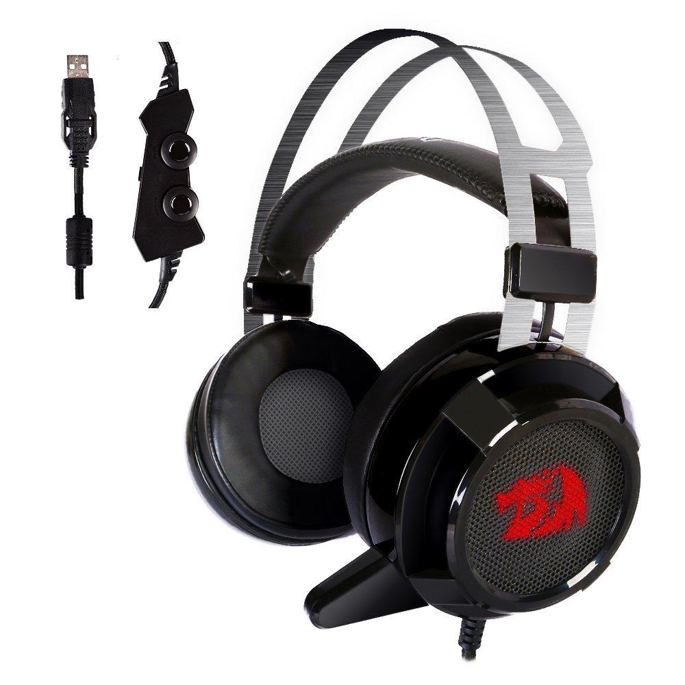9c5eca0065d Redragon H301 SIREN 2 7.1 Channel Surround Stereo Gaming Headset (USB)