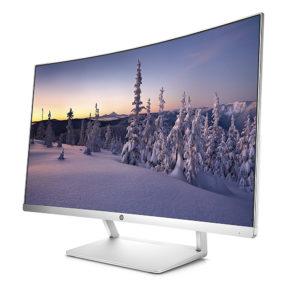"""HP Z4N75AA 27"""" Curved LED Monitor"""