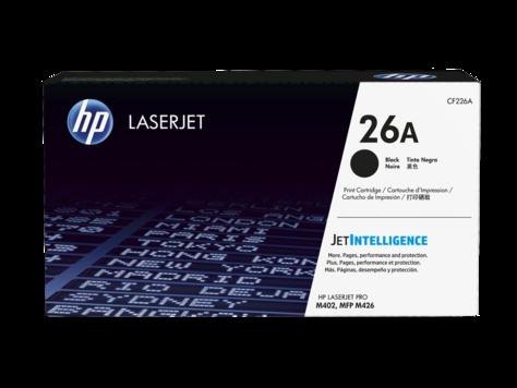 HP 26A Black Original LaserJet Toner Cartridge