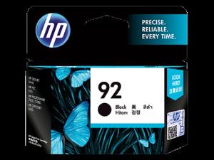 HP Ink C9362WA 92 Black