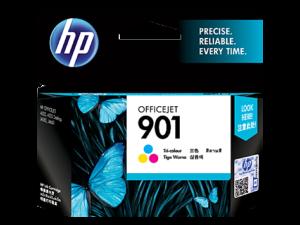 HP Ink CC656AA 901 Tri-Color