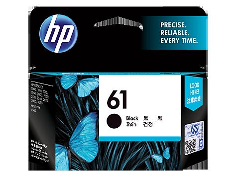 HP Ink CH561WA 61 Black