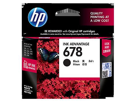 HP 678 Original Ink Advantage Cartridge - Black