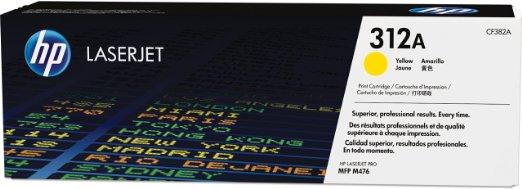 HP Toner CF382A 312A Yellow