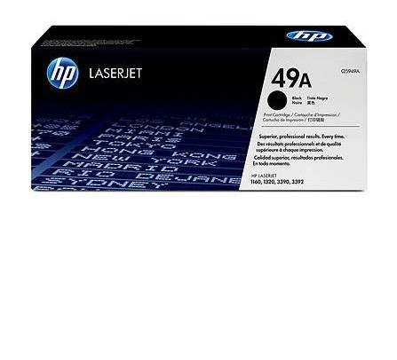 HP Toner Q5949A 49A Black