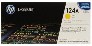 HP Toner Q6002A 124A Yellow
