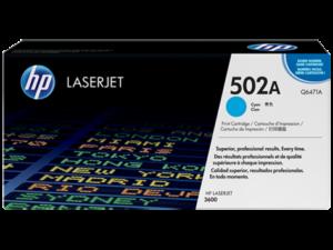 HP Toner Q6471A 502A Cyan