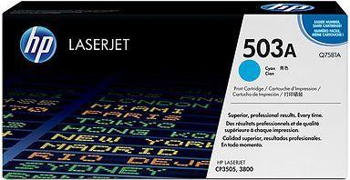 HP Toner Q7581A 503A Cyan