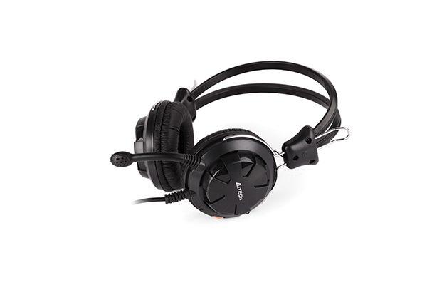 A4Tech ComfortFit Stereo Headset HS-28 - Black