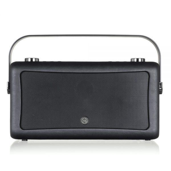 View Quest Hepburn MK II Bluetooth Speaker & Digital Radio - Black