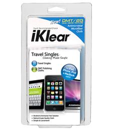 iKlear Travel Singles Kit (for iPod, iPhone, iPad, MacBook)