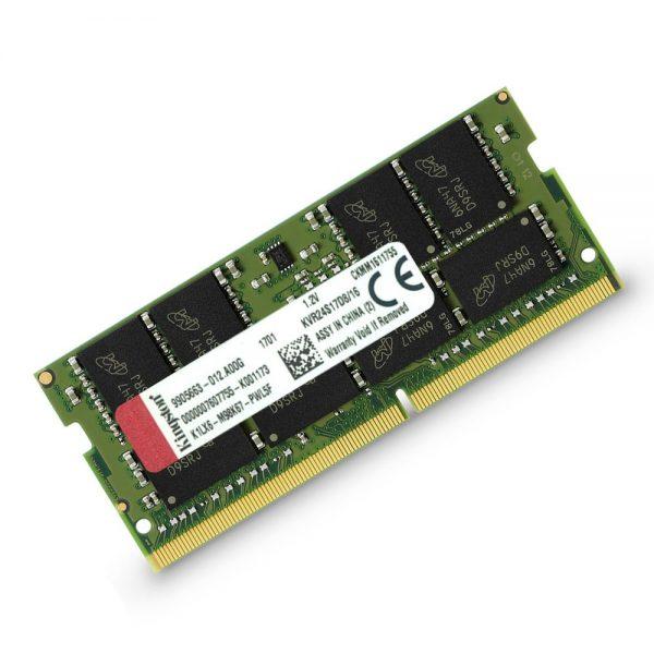 Kingston KVR24S17D8/16 2400MHz DDR4 Non-ECC CL17 260-Pin SODIMM Ram - 16GB
