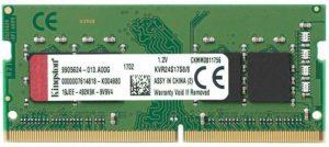Kingston KVR24S17S8/8 2400MHz DDR4 Non-ECC CL17 260-Pin SODIMM Ram - 8GB