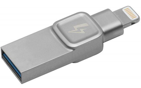 Kingston DataTraveler Bolt Duo USB 3.0 Lightning Flash Drive - 64GB