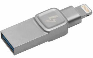 Kingston DataTraveler Bolt Duo USB 3.0 Lightning Flash Drive - 128GB