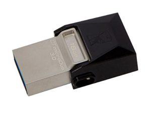 Kingston Data Traveler Micro Duo 3.0 USB OTG - 16GB