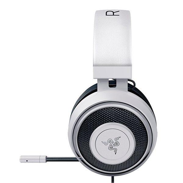 Razer Kraken Pro V2 Gaming Headset - White (Oval Shape Design)