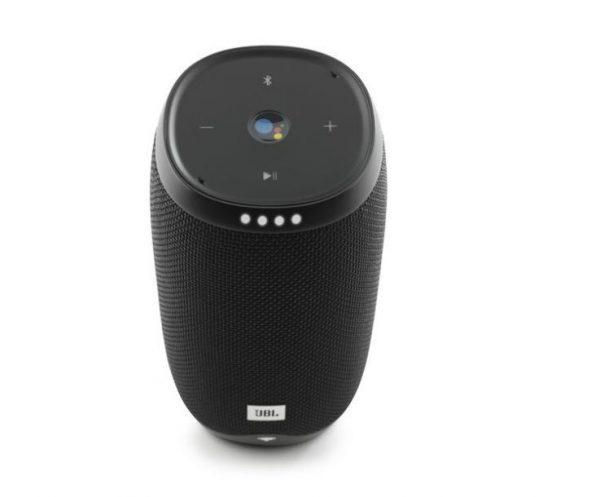 JBL Link 10 Voice-activated Portable Speaker - Black