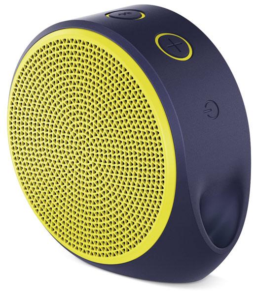 Logitech X100 Mobile Wireless Speaker (Yellow)