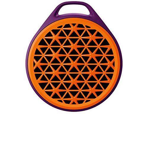 Logitech X50 Mobile Wireless Speaker - Purple/Orange